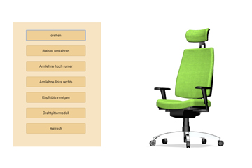 3D office - 3D models online - move what moves your customer