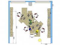 2D-Planung 3D office